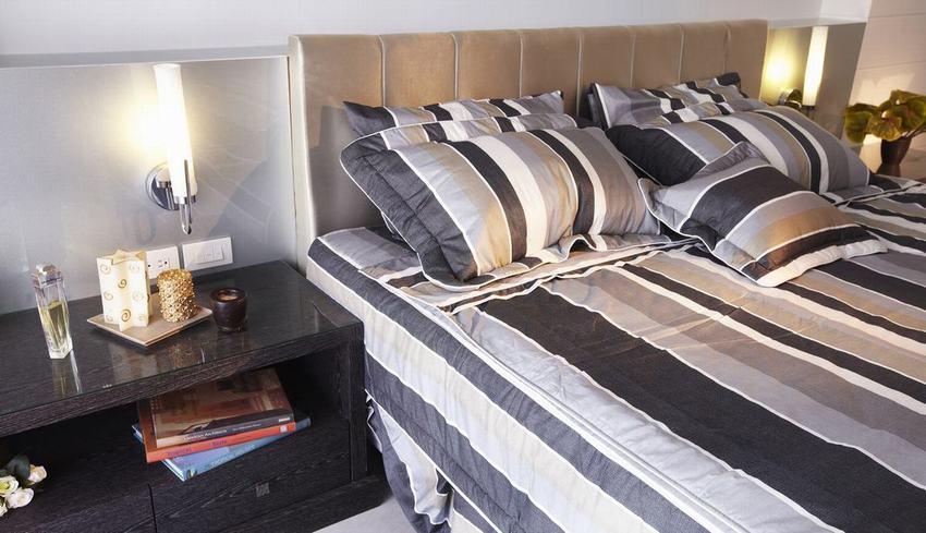 休閑美式臥室床頭柜設計