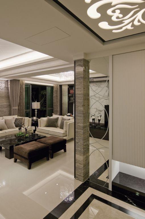 现代欧式风公寓装修欣赏