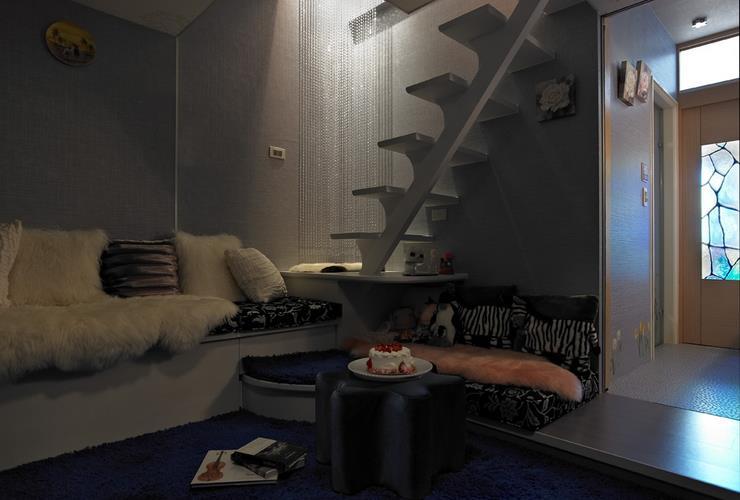 现代小户型室内隔断设计装修图_装修百科
