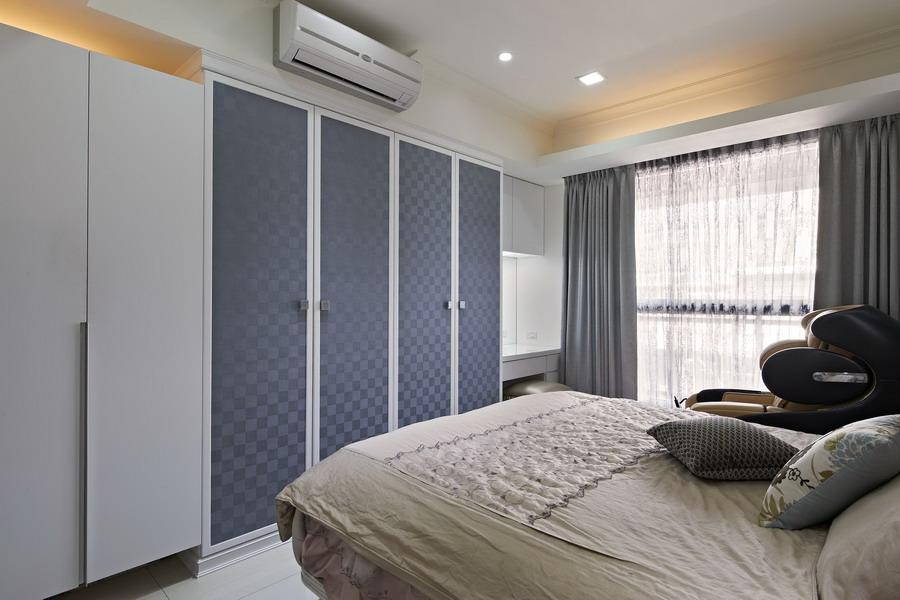 現代時尚設計臥室衣柜裝飾
