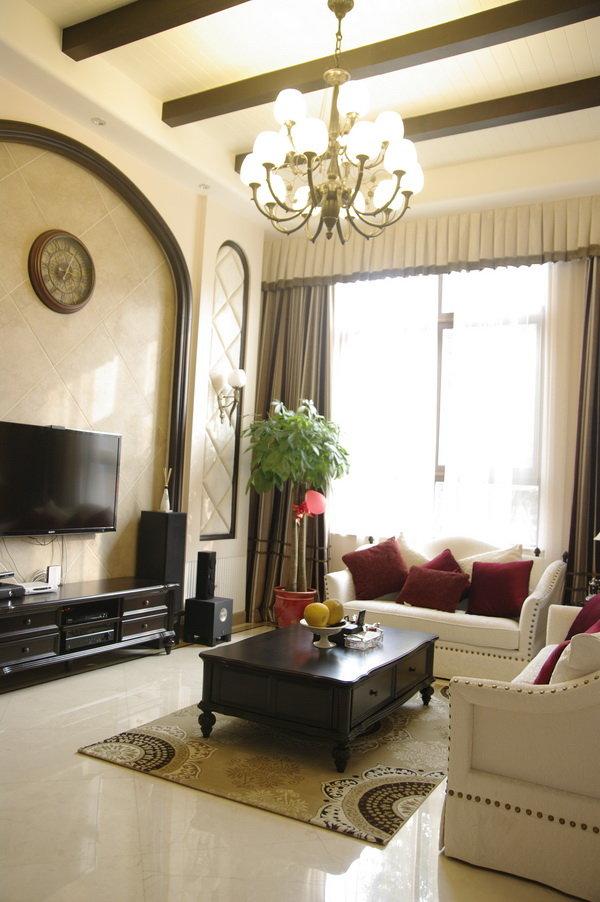 180平小别墅古典欧式装修风格装饰欣赏图