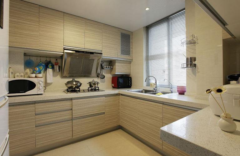 家居厨房现代设计橱柜装饰效果图