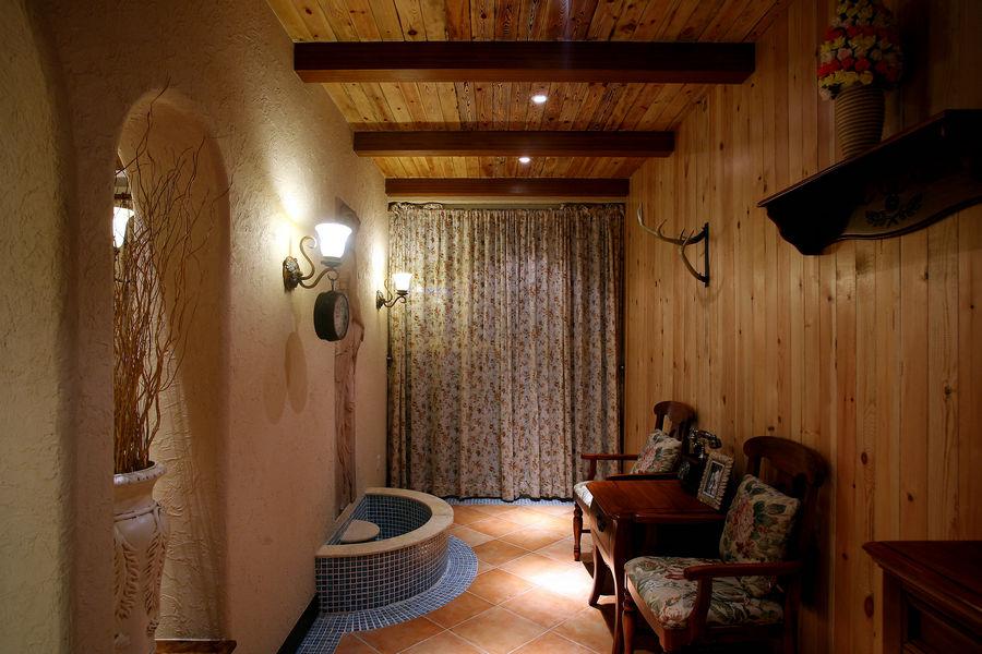 質樸中式田園家居室內設計裝修樣板房