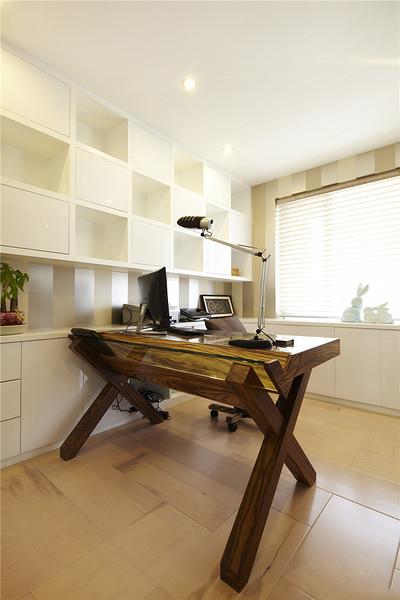 宜家现代混搭书房设计