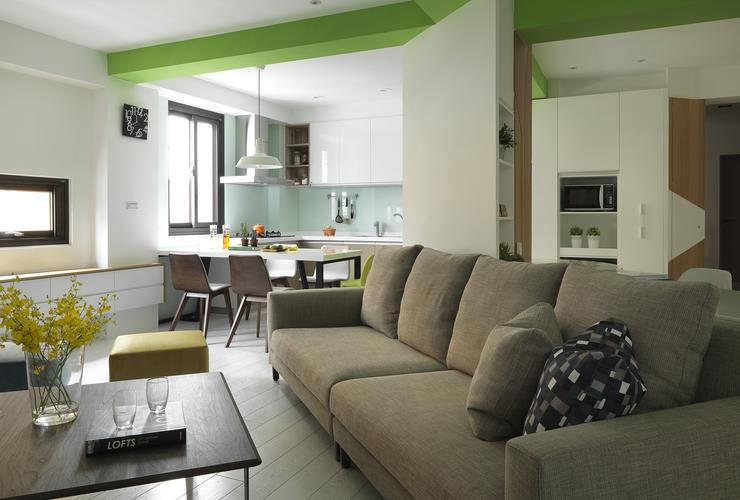 時尚創意簡約風小戶型公寓設計
