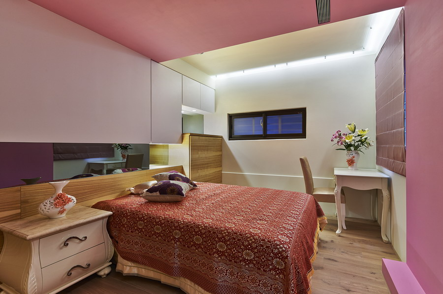 靚麗現代裝修臥室效果圖