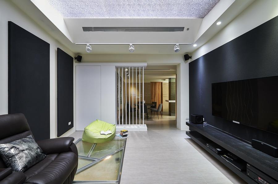 现代时尚感三室两厅装饰欣赏