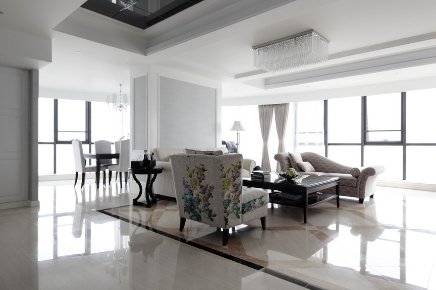 130平唯美现代四室两厅案例图