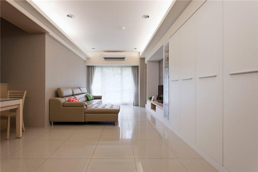 日式简约装修客厅效果图