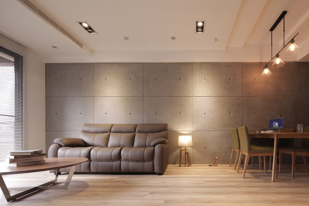 简约舒适日式风格客厅沙发布置_装修百科