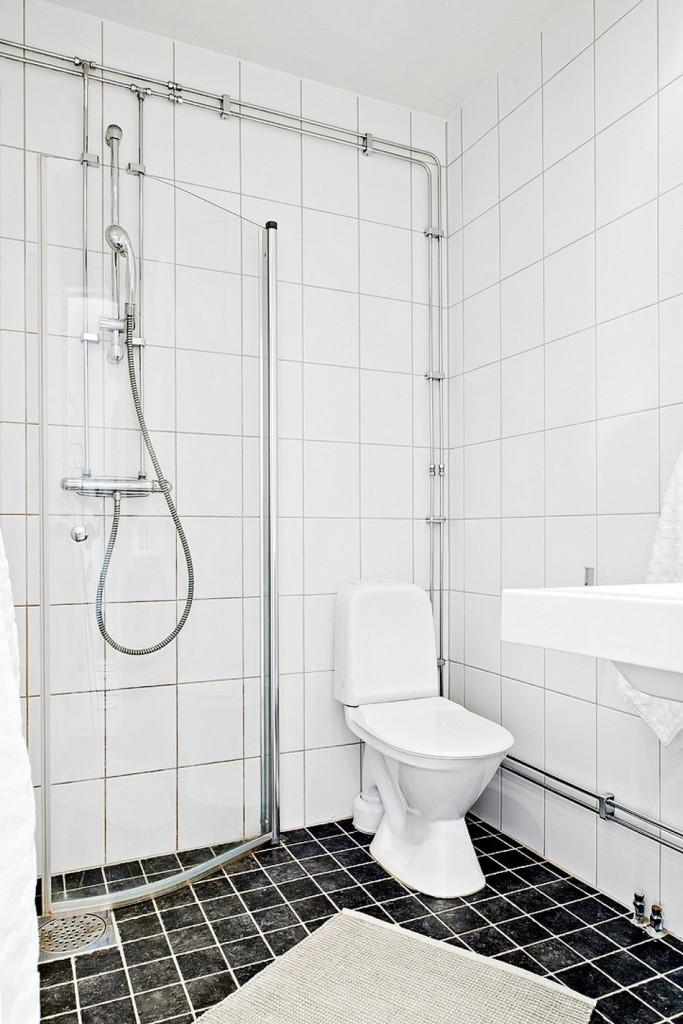 黑白简约北欧风格卫生间设计