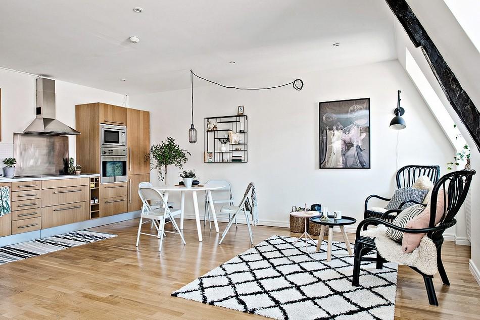 明亮简约北欧风格公寓装修