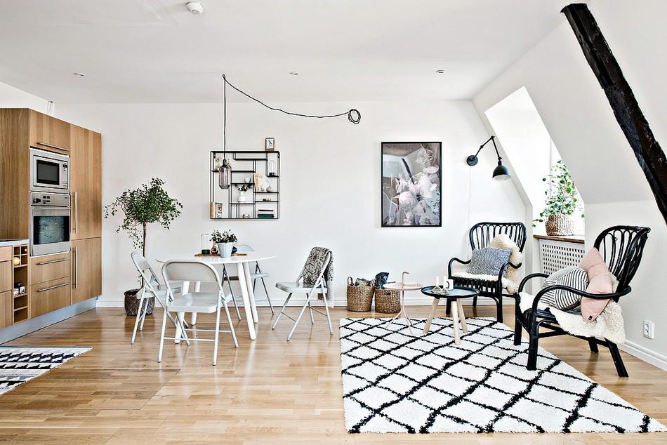 轻工业北欧混搭公寓家居设计