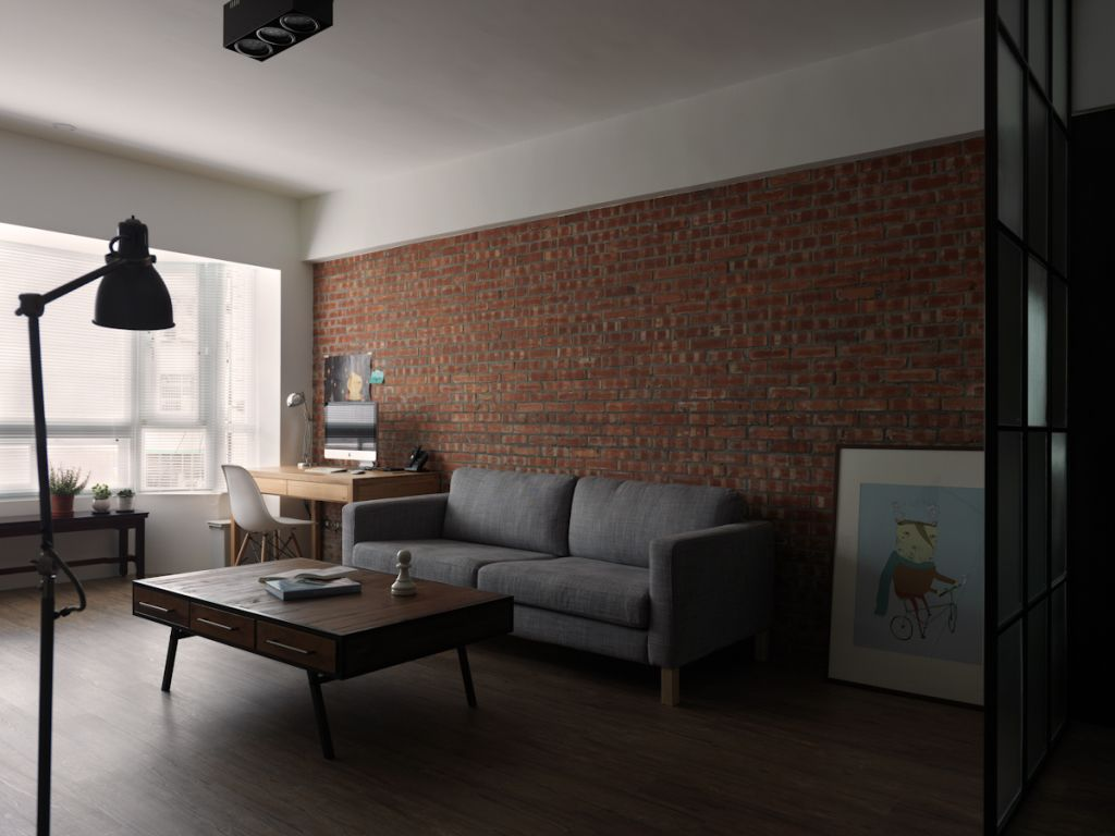 70平时尚后现代风二居室装修