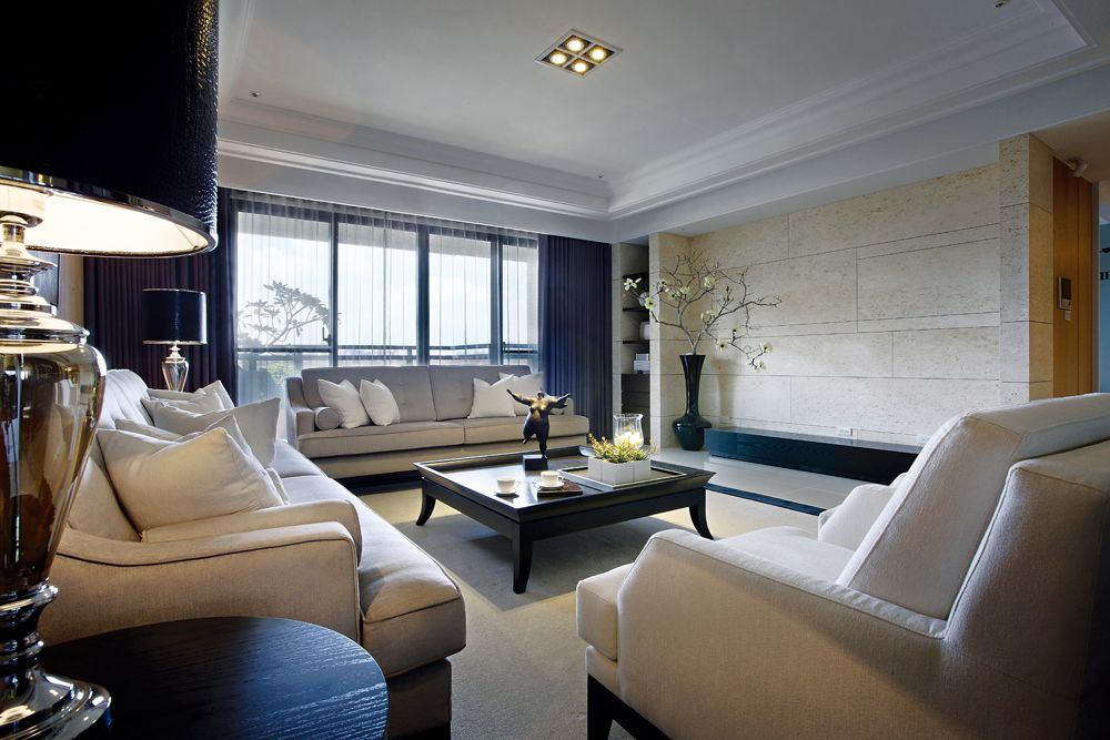精美現代簡歐風 客廳裝潢大全