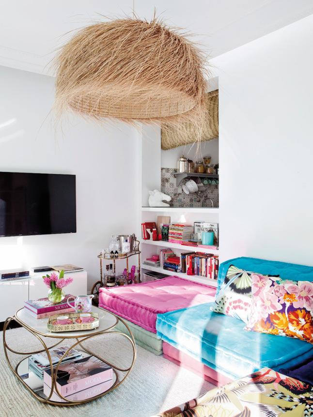 多彩復古異域風情 小公寓混搭設計