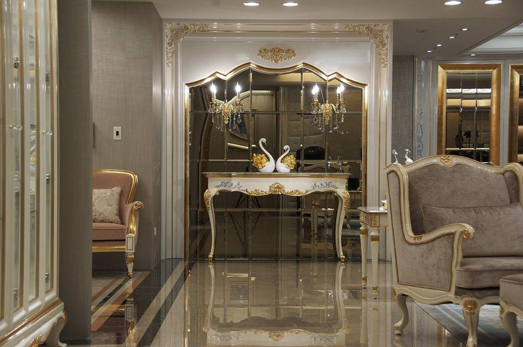 奢华欧式新古典别墅装潢设计