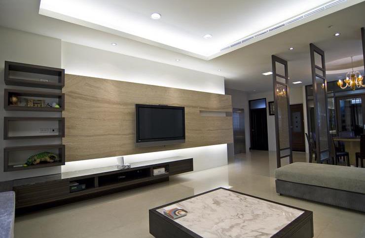 时尚现代风格公寓装修效果图