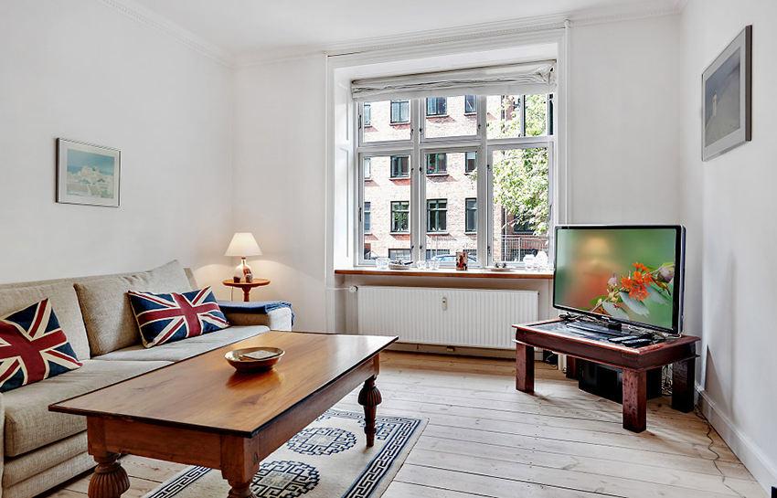 文艺复古北欧风情 公寓混搭设计