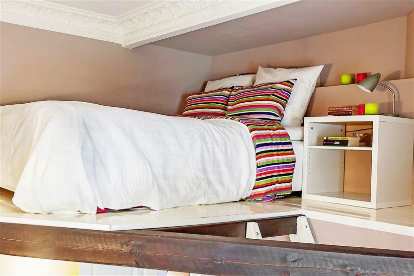溫馨巧妙北歐風 臥室床頭效果圖