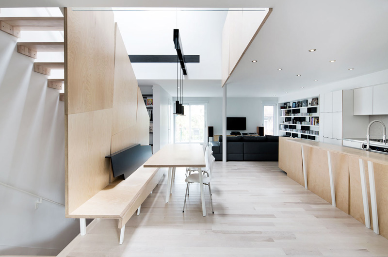 時尚簡約復式一樓 創意裝修設計