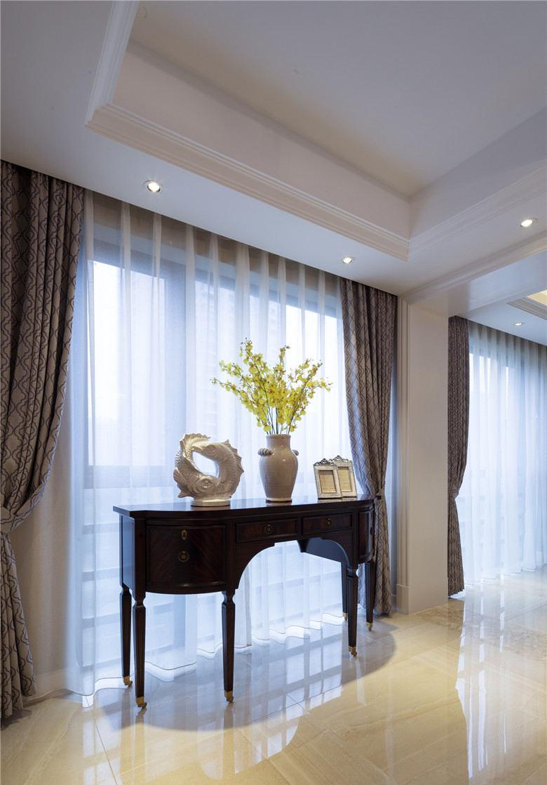 法式简欧风格 三室两厅装修设计