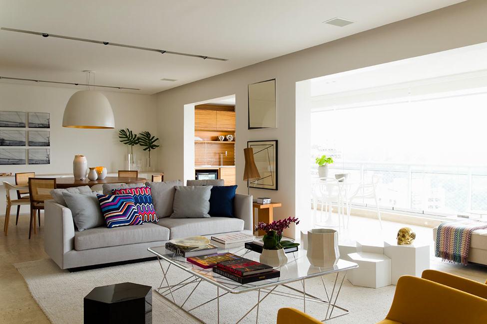 時尚簡歐客廳裝飾效果圖