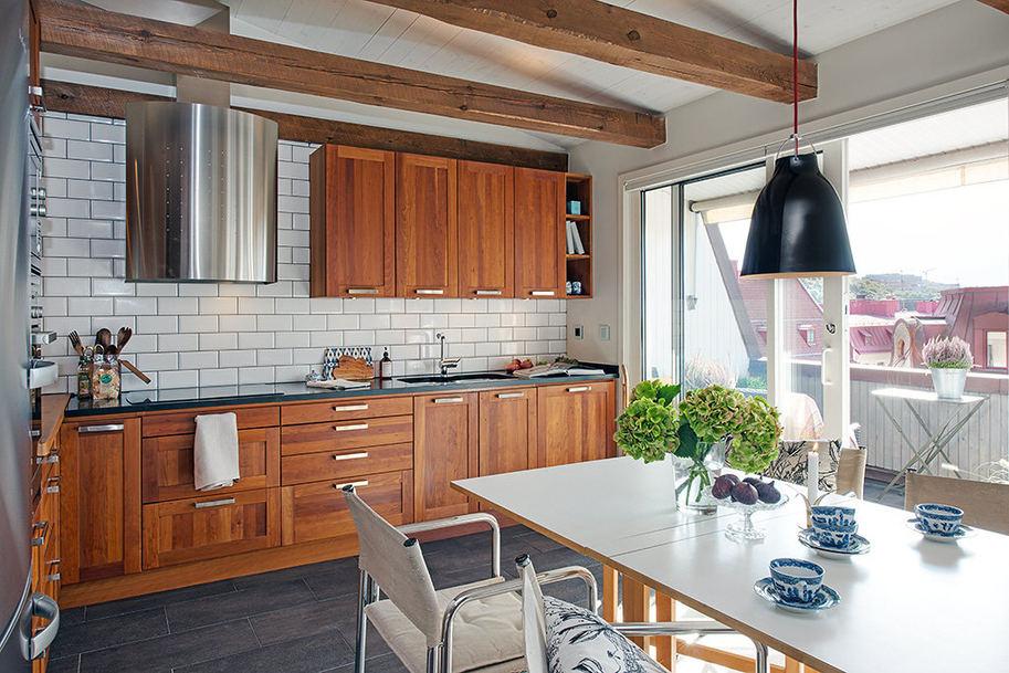 ,2018紫色北欧风格吊顶厨房装修效果图大全 2018紫色北欧风格吊