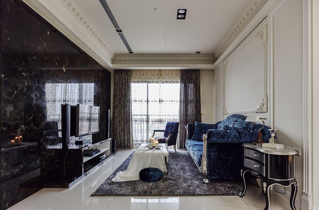 华丽古典欧式三室两厅设计