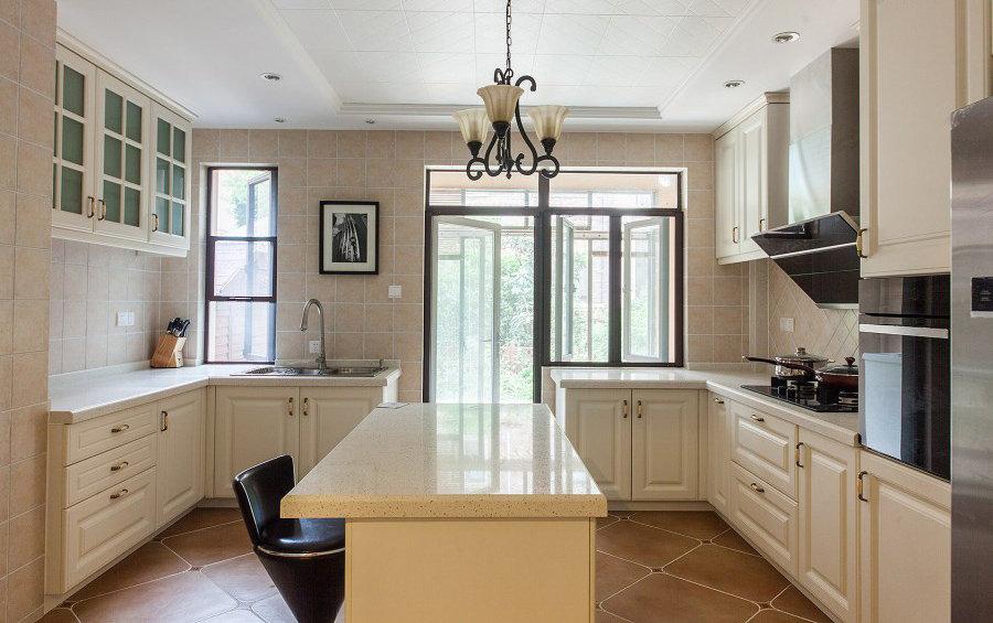 美式风格厨房样板间欣赏