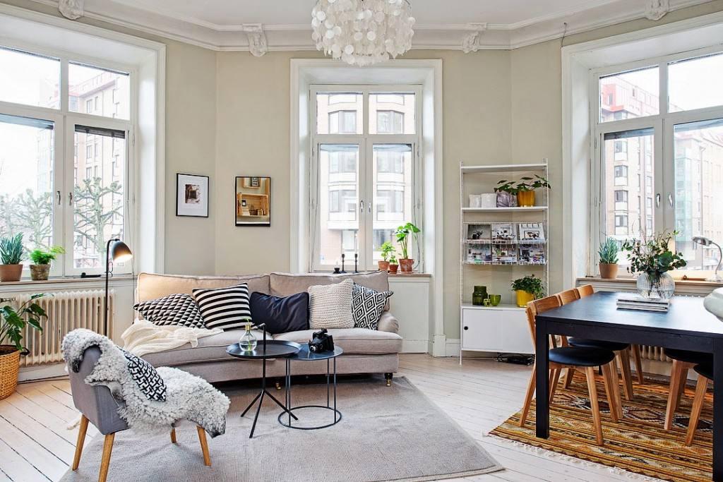北欧风情小户型公寓设计装修图