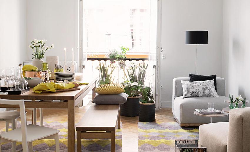 時尚清新北歐風情小戶型公寓設計