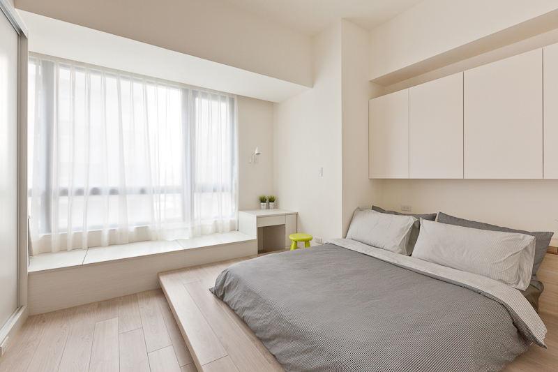 简约时尚现代个性设计装修卧室效果图