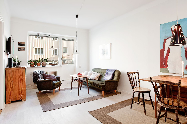 简约北欧小户型客厅装修图