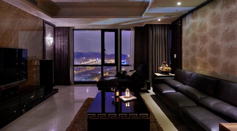 138平时尚摩登现代风公寓装饰案例
