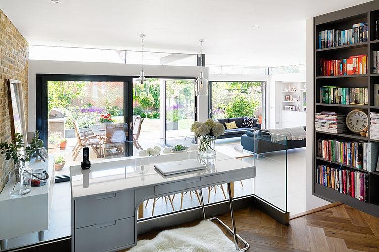 明亮簡約現代小別墅室內裝修圖