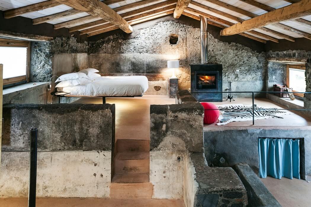 个性另类原始混搭风格 小型公寓设计