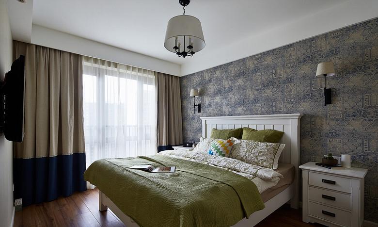 现代简约卧室装潢设计图_装修百科