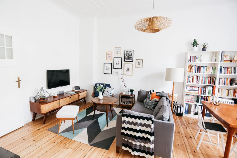 時尚現代一居室簡約裝飾圖