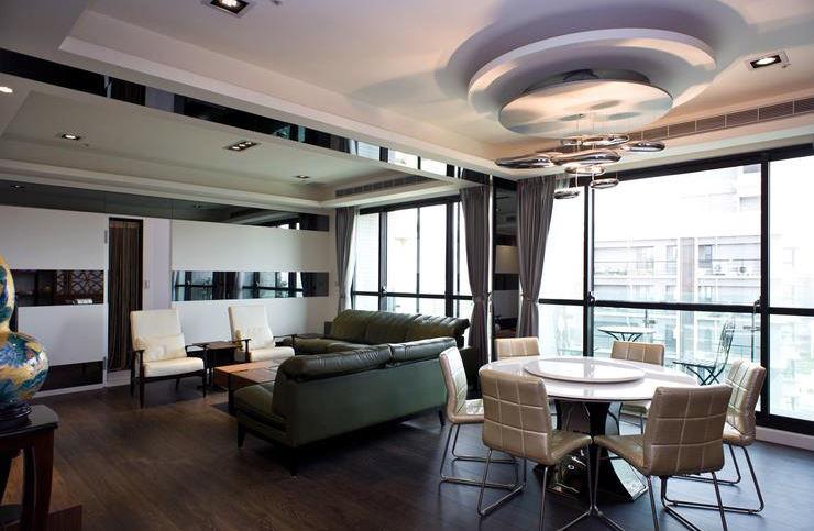 装修140平公寓现代风格设计图