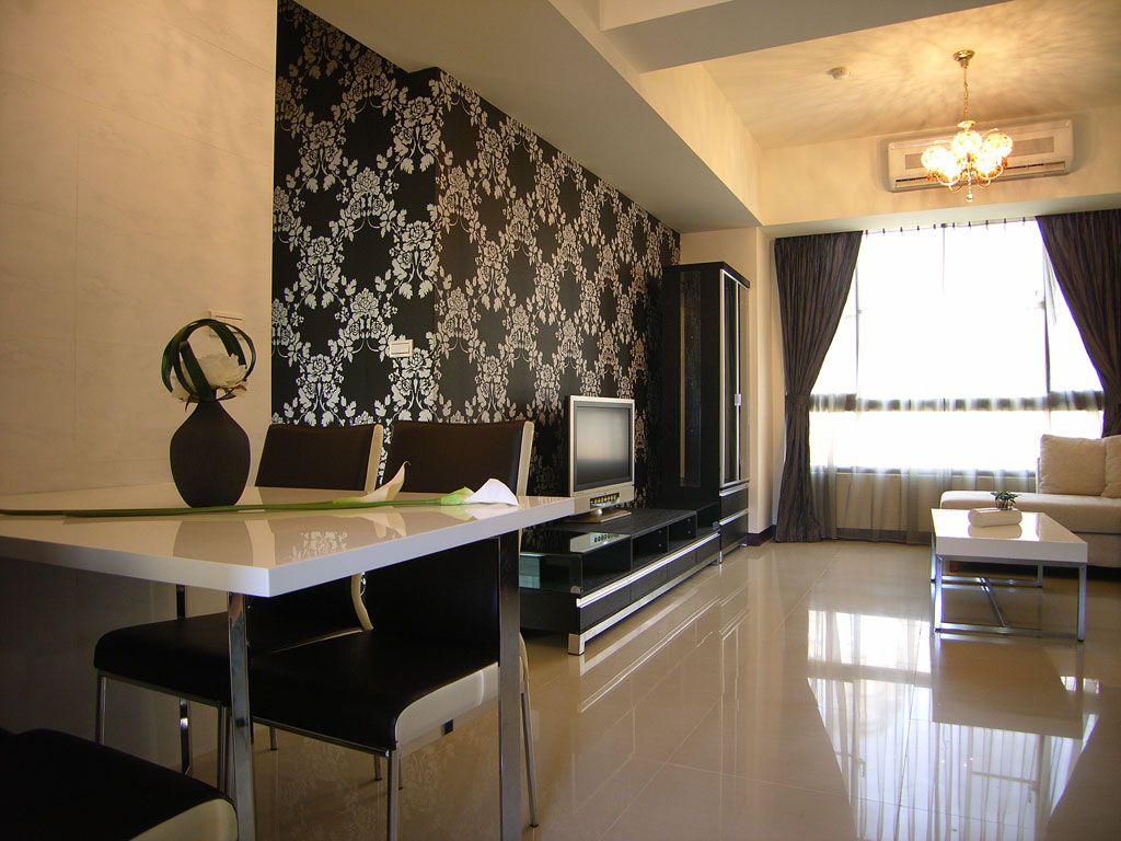 现代家装三居室装修设计