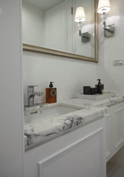 家居衛生間簡約日式洗手盆裝飾效果圖