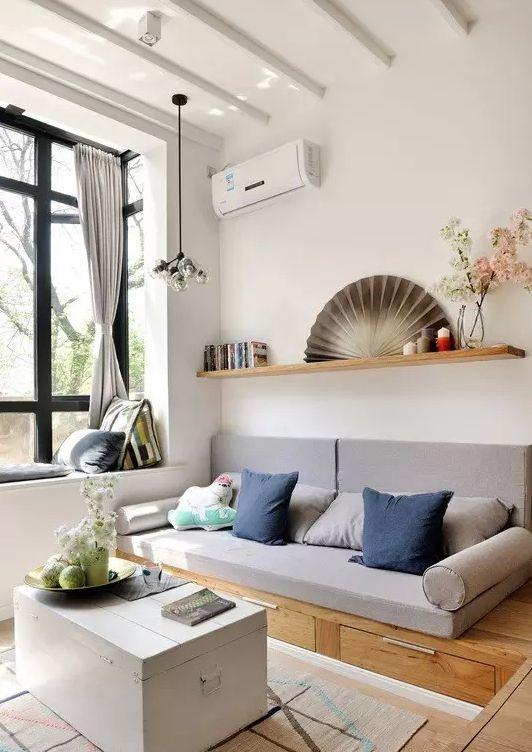 清新北歐文藝范 LOFT公寓設計