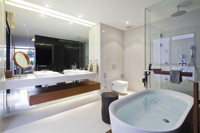 簡潔大方簡約別墅衛生間裝修
