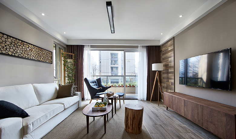 2017北欧风格隔断客厅装修效果图大全 2017北欧风格隔断客厅装修效