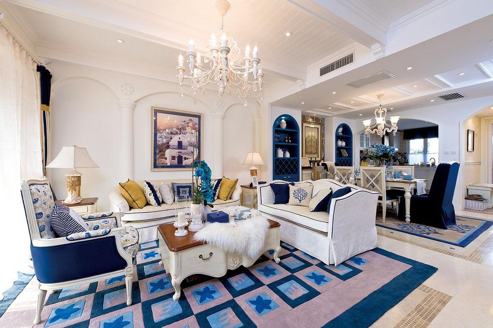 浪漫地中海风格小别墅设计