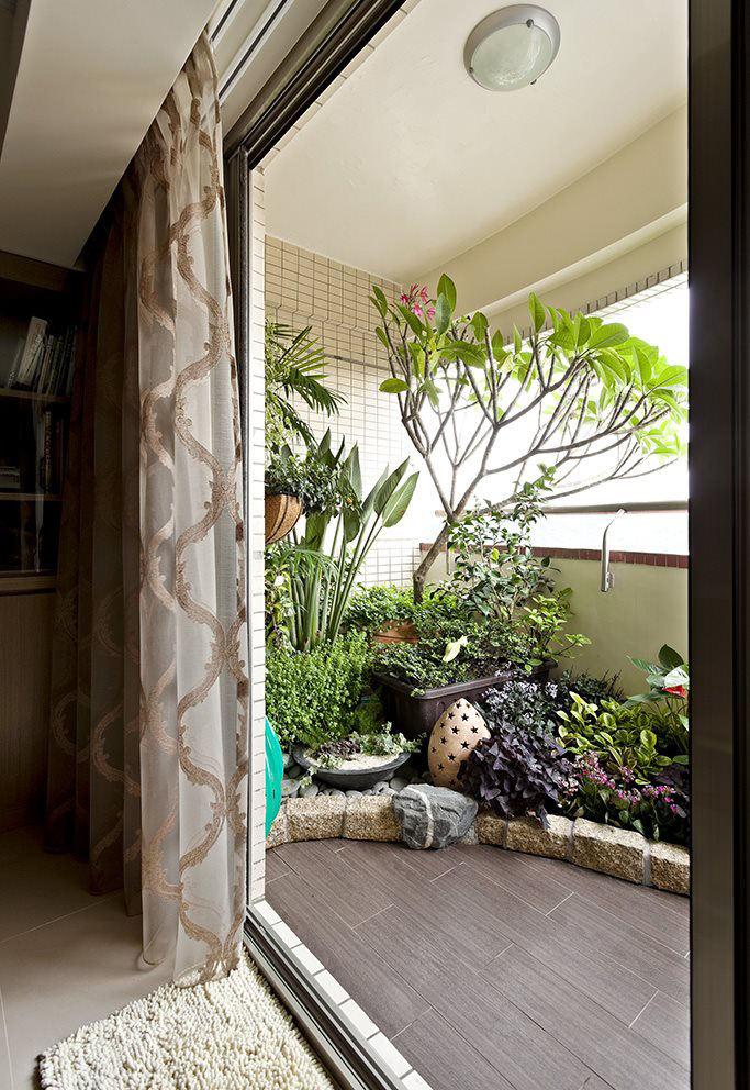 简约现代家居阳台设计