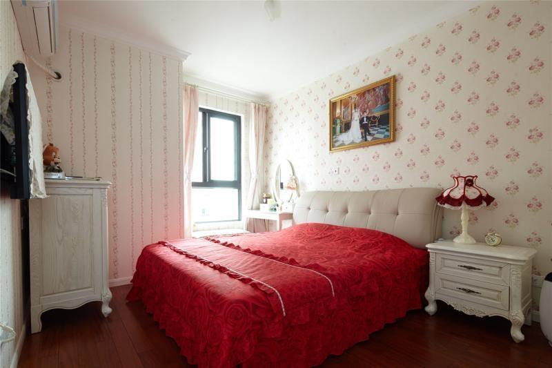 溫馨浪漫簡歐臥室婚房裝修圖