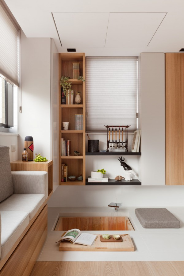 宜家风打造38平创意小空间公寓设计