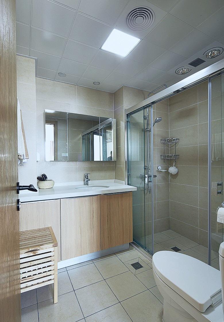 北欧装修风格卫生间设计